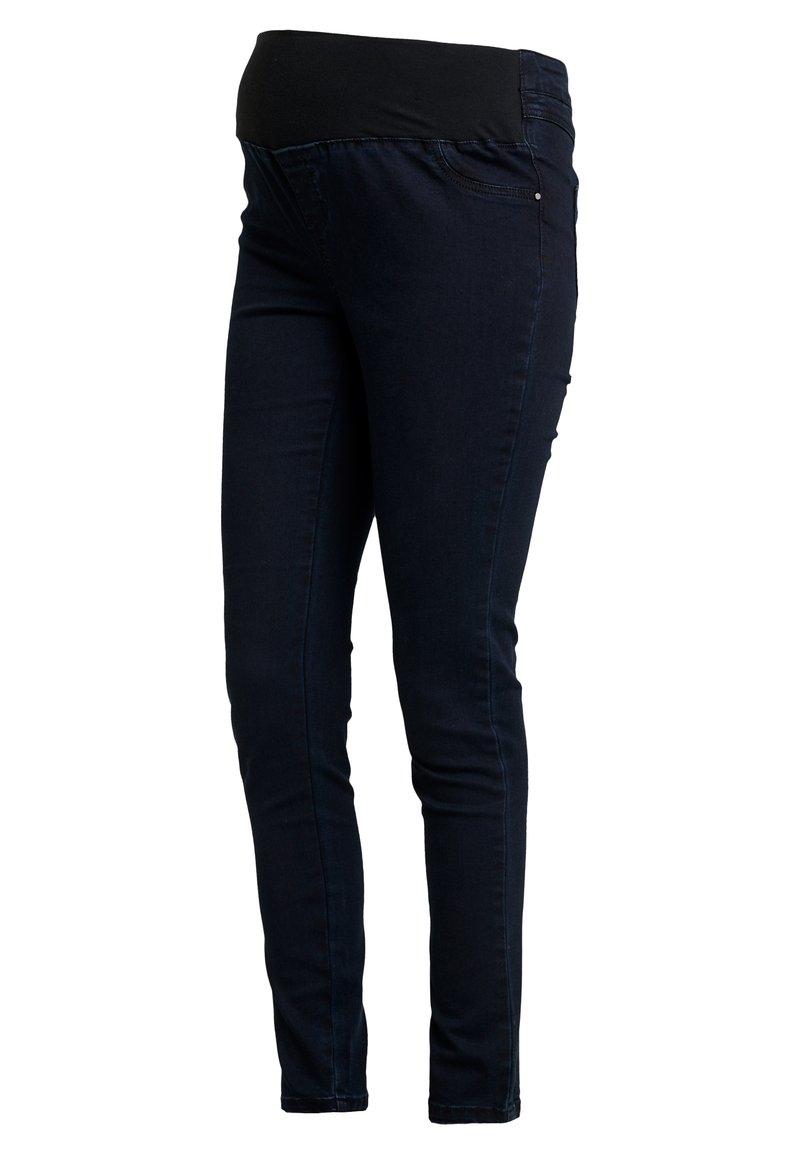 Dorothy Perkins Maternity - UNDERBUMP EDEN - Jeans Slim Fit - blue/black