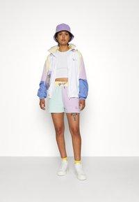 Karl Kani - SIGNATURE BLOCK - Shorts - mint - 4