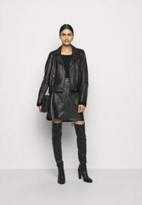 RIANI - Leather jacket - black - 1