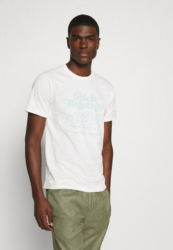 GRAPHIC CREWNECK TEE UNISEX - T-shirt con stampa - neutrals