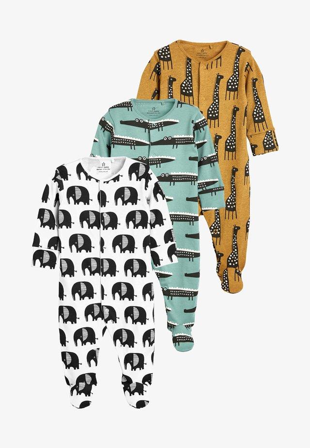 3 PACK - Pyjamas - blue