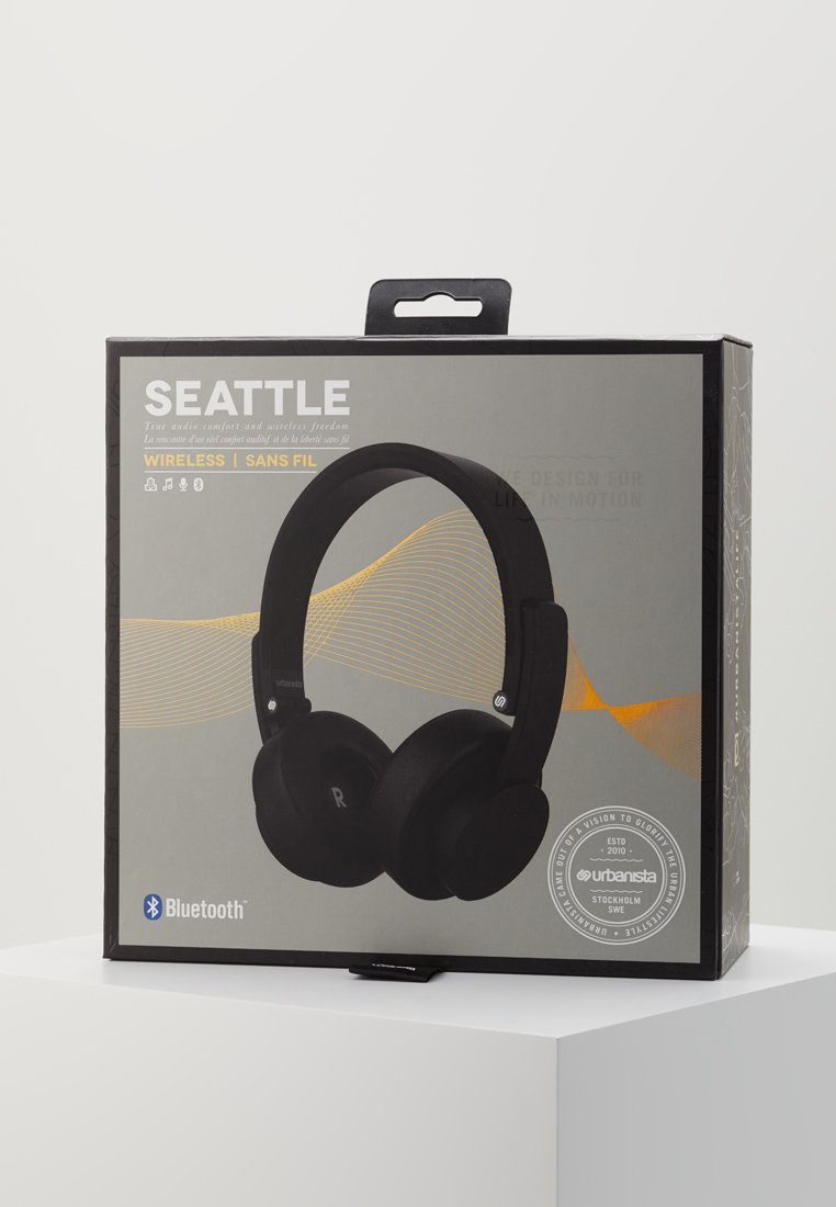 Urbanista SEATTLE BLUETOOTH - Hodetelefoner - dark clown black/svart 2YWbDVRbEVOvxOc
