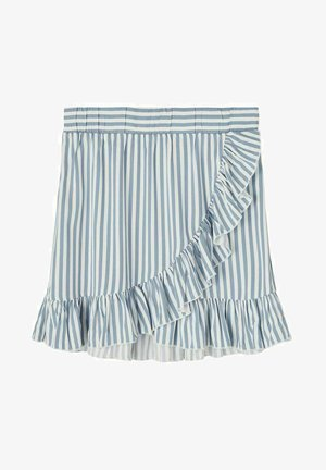 Wrap skirt - ashley blue