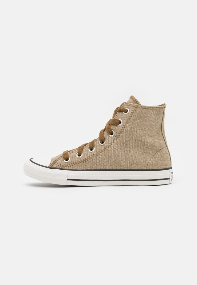CHUCK TAYLOR ALL STAR UNISEX - High-top trainers - khaki/egret/terra taupe