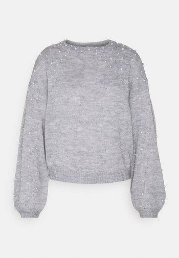 VIRASY PEARL - Jumper - mottled light grey
