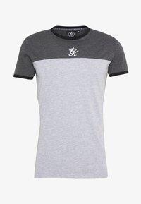 Gym King - ORIGIN PANEL - Camiseta estampada - charcoal marl/grey marl - 3