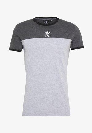 ORIGIN PANEL - T-shirt print - charcoal marl/grey marl