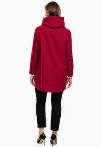 Triangle - Short coat - dark red - 2