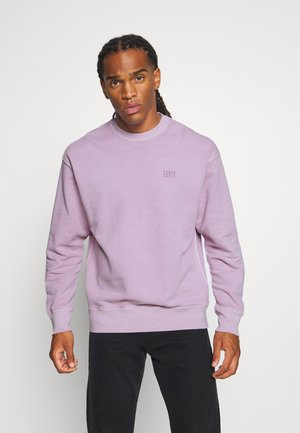 AUTHENTIC LOGO CREWNECK - Felpa - lavender frost