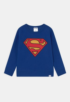 SUPERMAN CAPE CREW - Mikina - brilliant blue