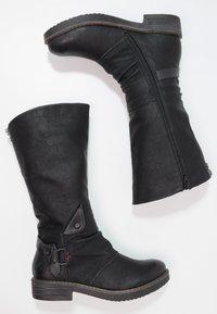 Coolway - DAVISON - Cowboy/Biker boots - black - 1