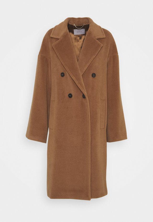 ZANORA - Classic coat - nocciola