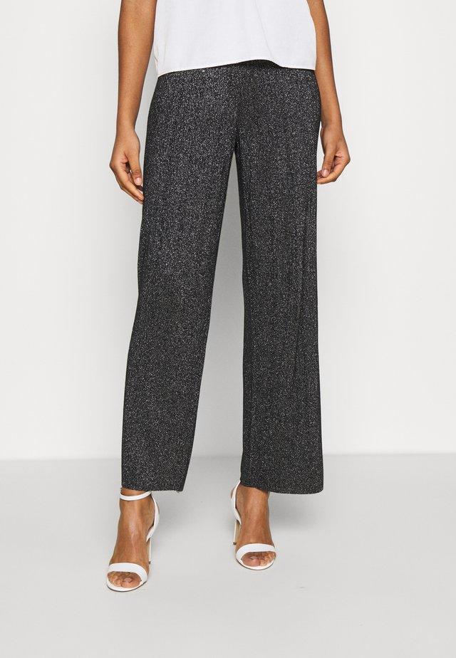 BLANDA PANTS - Pantaloni - schwarz