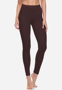 Bellivalini - Leggings - Trousers - brown - 0