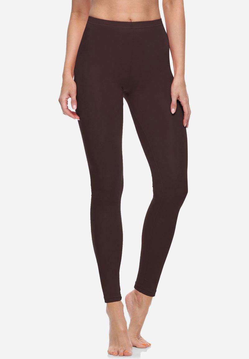 Bellivalini - Leggings - Trousers - brown