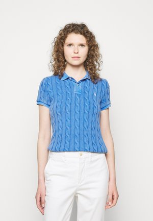 CABLE - Polo shirt - keel blue