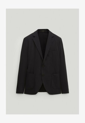 SLIM-FIT - Suit jacket - blue-black denim