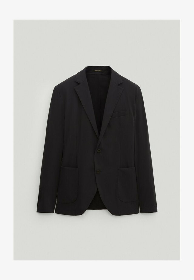 SLIM-FIT - Suit jacket - blue-black denim
