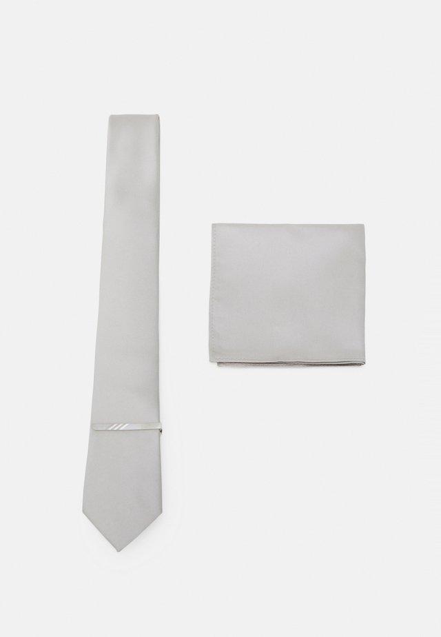 SET - Cravatta - silver