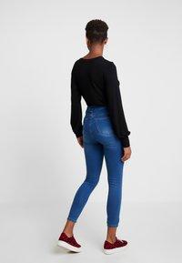 Cotton On - ULTRA HIGH SUPER STRETCH - Jeans Skinny Fit - berkley blue - 2