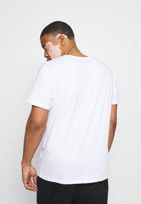 LTB - 3 PACK - Basic T-shirt - black/grey/white - 3
