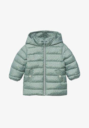ANORAK - Winter coat - aqua green