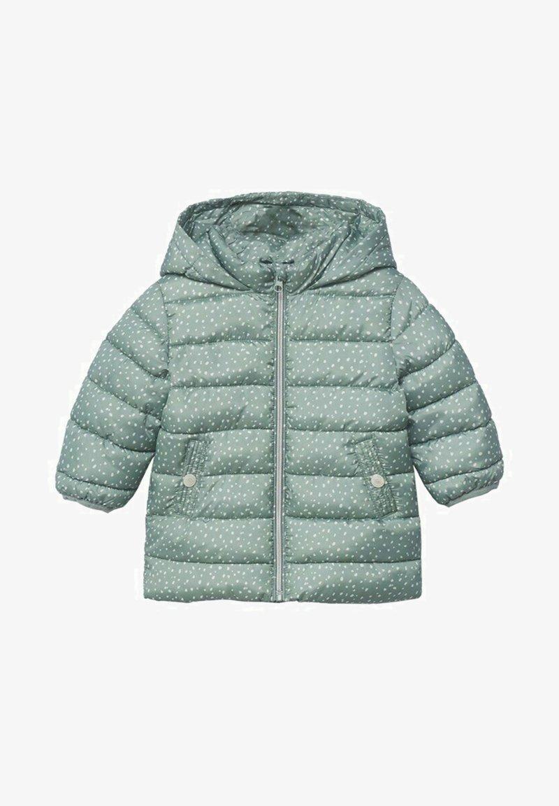 Mango - ANORAK - Winter coat - aqua green