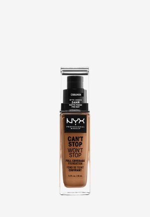 CAN'T STOP WON'T STOP FOUNDATION - Foundation - 15.5 cinnamon