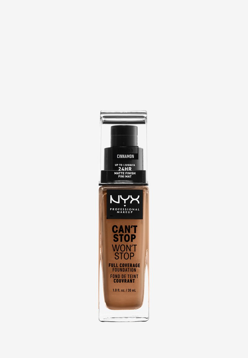 Nyx Professional Makeup - CAN'T STOP WON'T STOP FOUNDATION - Foundation - 15.5 cinnamon