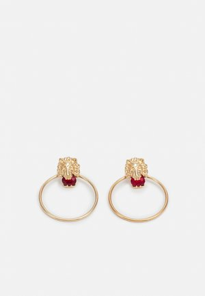 PCLIOE EARRINGS - Earrings - gold-coloured