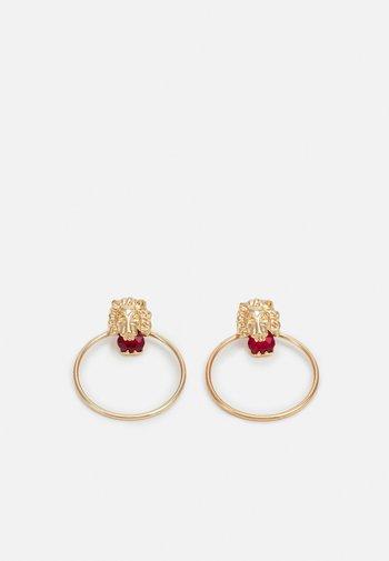 PCLIOE EARRINGS - Earrings - gold-coloured