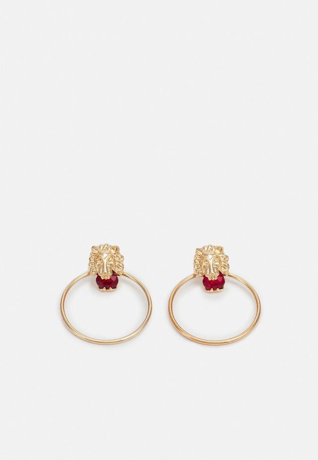 PCLIOE EARRINGS - Boucles d'oreilles - gold-coloured