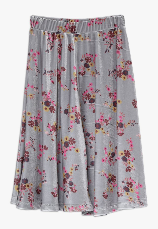 GRETA  LONG SKIRT - Falda acampanada - grey