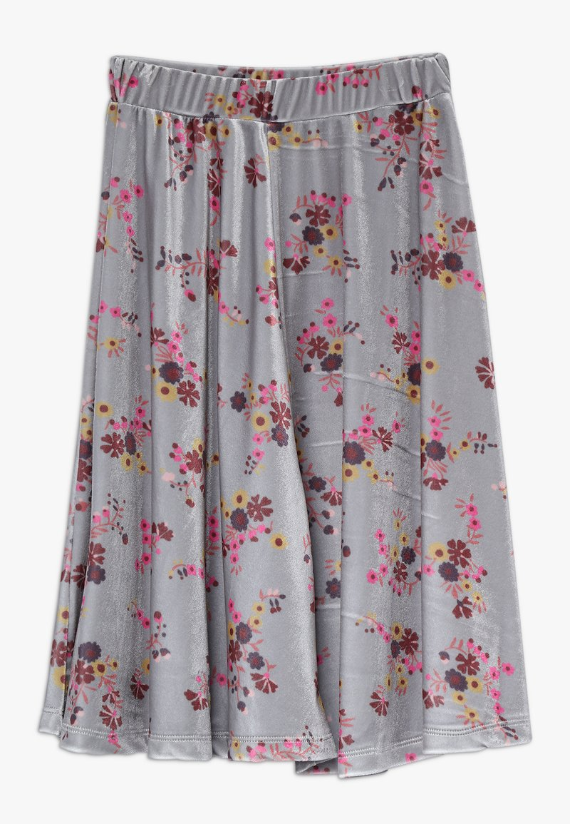 GRO - GRETA  LONG SKIRT - Gonna a campana - grey