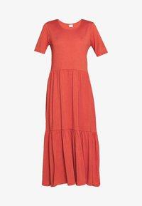 JDYDALILA FROSTY - Jersey dress - hot sauce