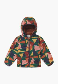 Patagonia - REVERSIBLE HOODY UNISEX - Down jacket - camel/multi-coloured - 2