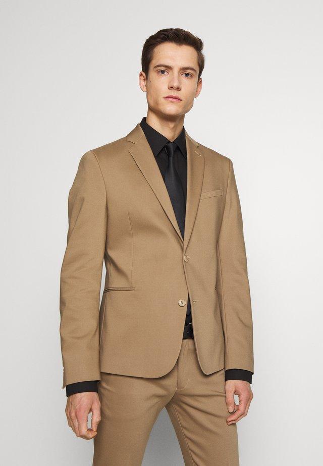 HURLEY - Veste de costume - beige
