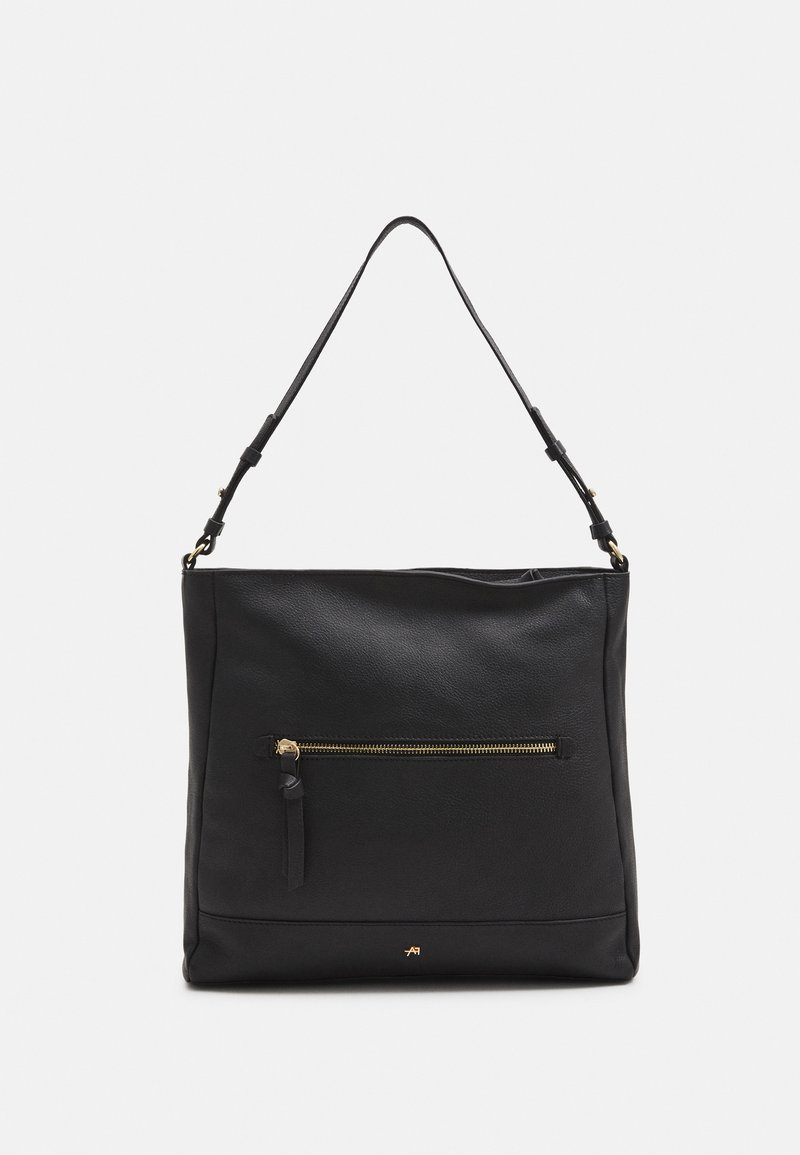 Anna Field - LEATHER - Kabelka - black