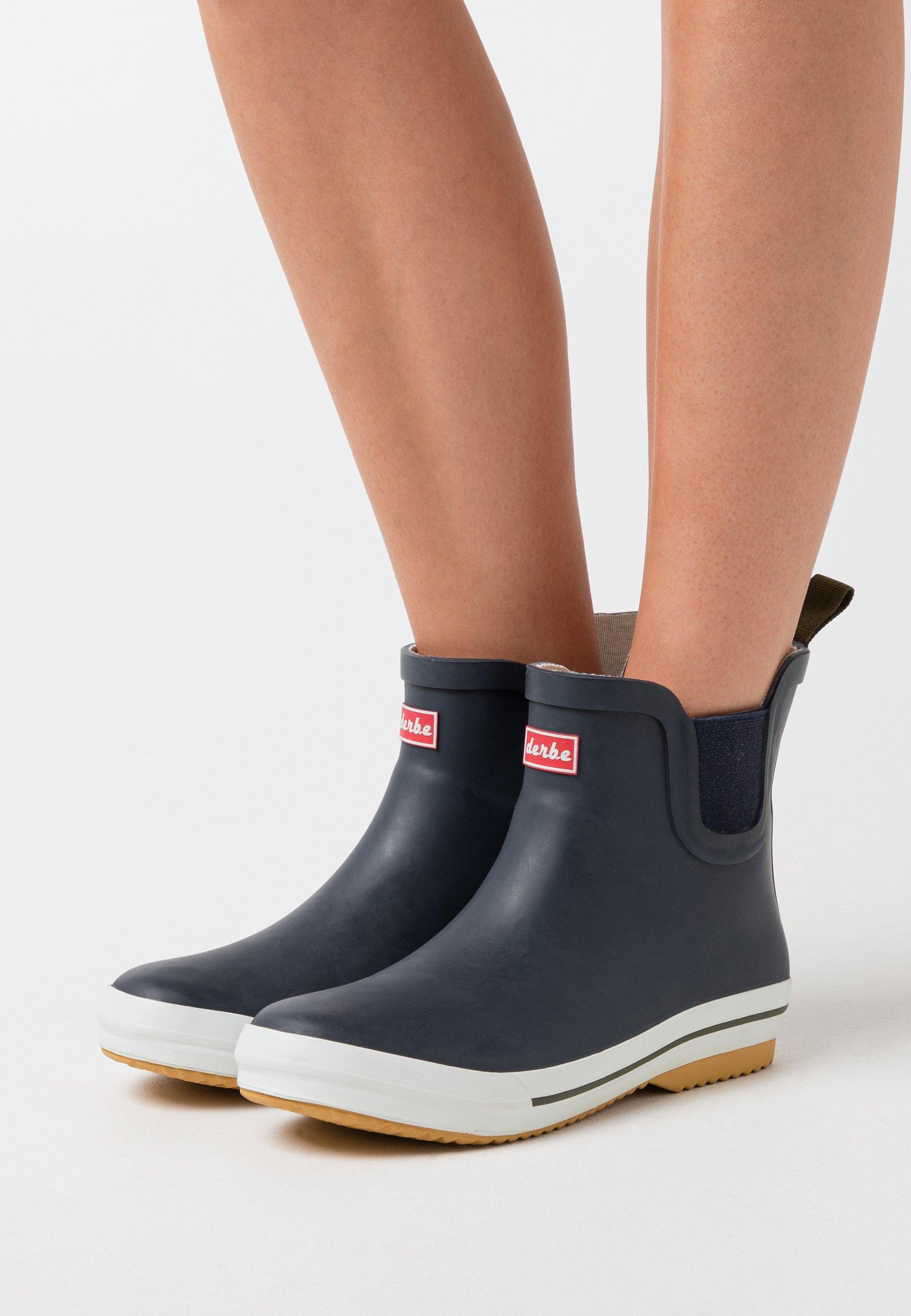 Nice Women's Shoes Derbe WATTPUUSCHEN  Wellies marine TFAShofBG