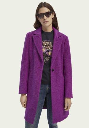 Classic coat - dark violet