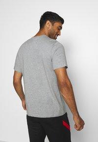 Nike Performance - PARIS ST GERMAIN TEE GROUND - Club wear - dark grey heather - 2