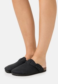 Rubi Shoes by Cotton On - REX STUD CLOSED TOE MULE - Slippers - black - 0