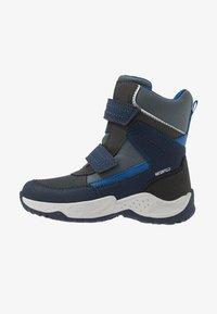 Geox - SENTIERO BOY WPF - Winter boots - navy/royal - 1