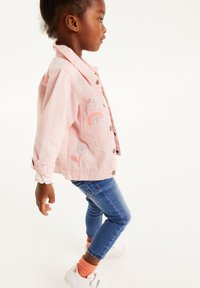 Next - Denim jacket - pink - 1