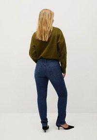 Violeta by Mango - VALENTIN - Straight leg jeans - dunkelblau - 2