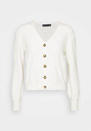 NEEDLE CARDI - Cardigan - beige