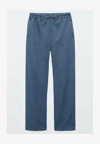 Massimo Dutti - Spodnie materiałowe - dark blue - 3