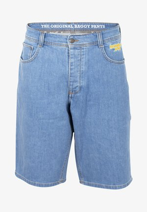 X-TRA BAGGY - Denim shorts - blue