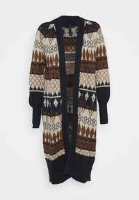 YAS Tall - YASWOYA LONG CARDIGAN - Cardigan - night sky - 0