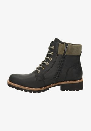 ELAINA - Lace-up ankle boots - zwart